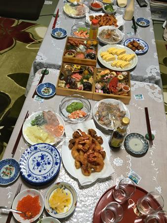 大晦日の食卓